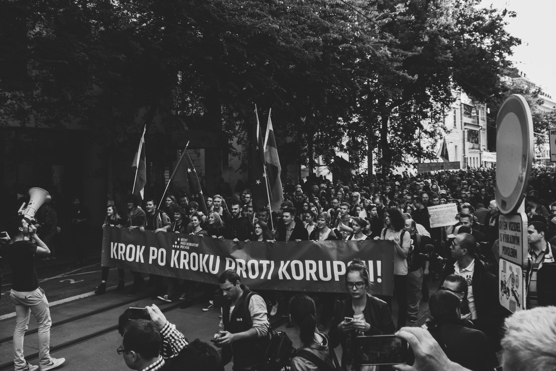 Protikorupčné želania študentov a aktivistov Matúš Benian_Flickr