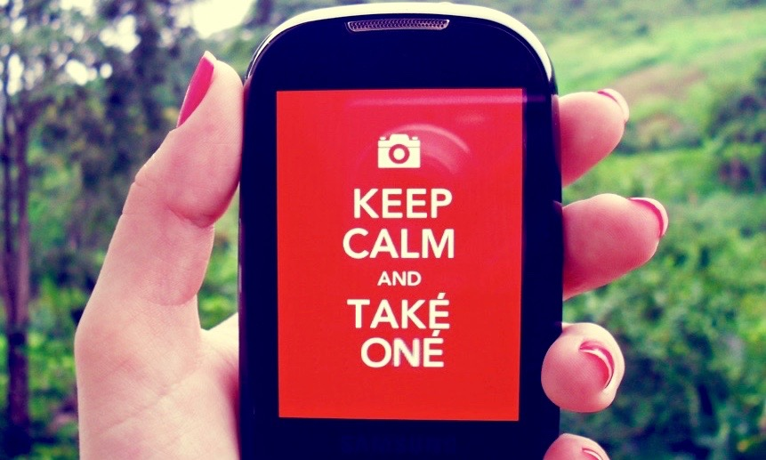 keep calm and take one Isadora de Paula Flickr