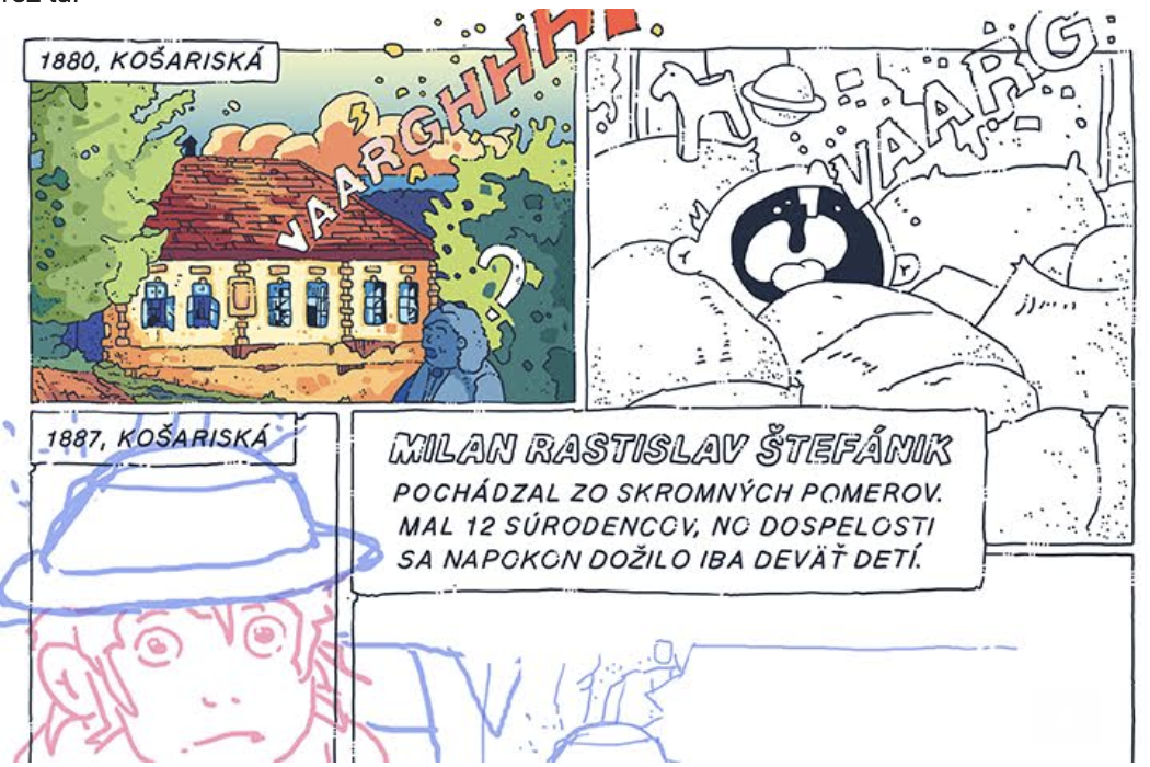 eniac sebavedomy komiks stefanik